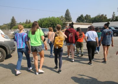 All Around Auto host the Girl Scouts of Northern CA